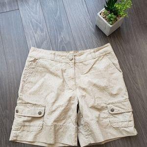 WOOLRICH women's outdoor hiking shorts size 8